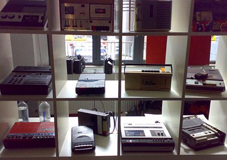 Kassettenrekordersammlung