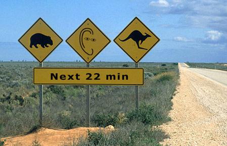 Australische Straßenschilder: Wombats, Kängurus und Ohrenblicke next 22 min