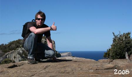 Aaron in Australien 2008