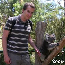 Aaron und Koala 2008
