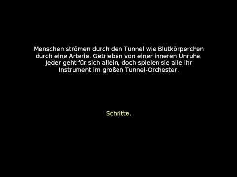 """U-Bahn Stadtmitte - Konzert im Mäusetunnel (mit """"Untertiteln"""")"""