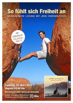 Plakat: So fühlt sich Freiheit an - Eine Reise durch Australien