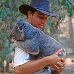 Jens Ohrenblicker mit Koala